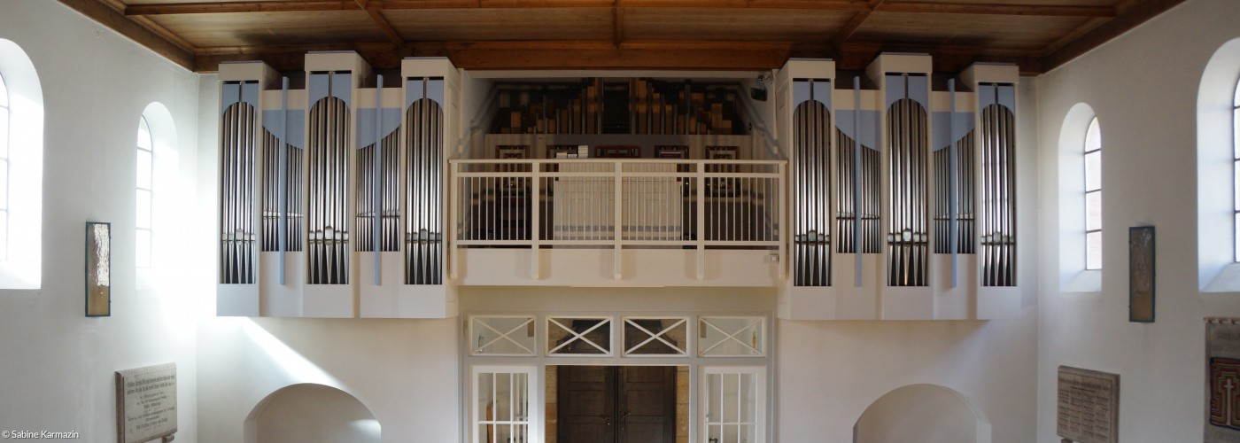 Orgelempore Christuskirche Gauting